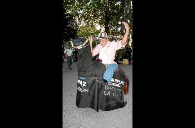 Darío Plaza: Un jinete sin caballo