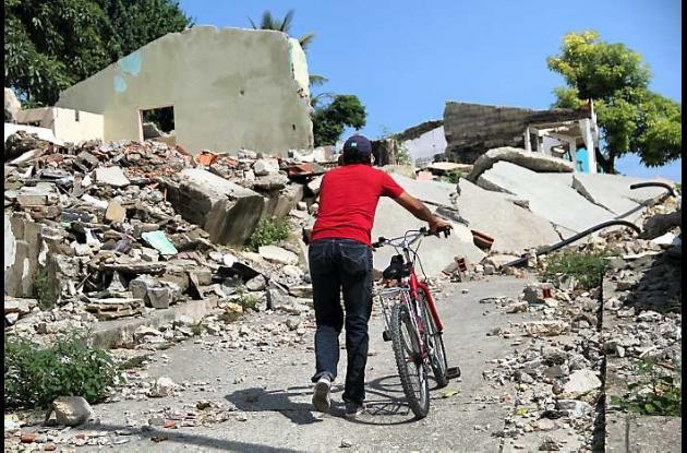 José Vargas ascendiendo en medio del desastre.