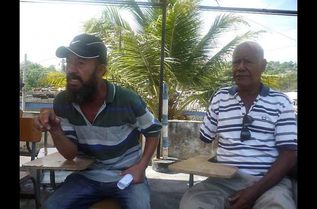 Albeiro Rico Cardona y Gerardo Fainete.