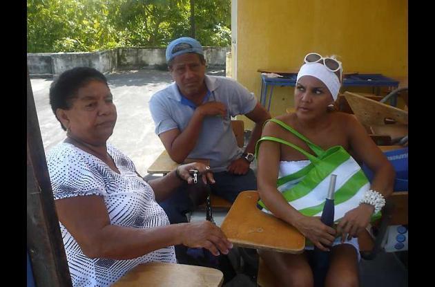 Catalina Pantoja, Pedro Rodríguez Arenas y Nancy Lara.