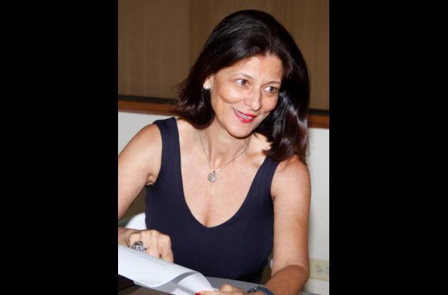 Claudia Fadul Rosa, presidenta de la Sociedad de Mejoras Públicas de Cartagena.
