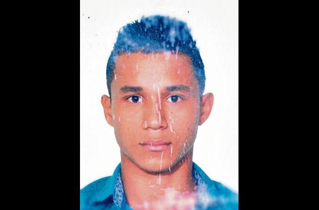 Cristian Orozco Romero, herido.