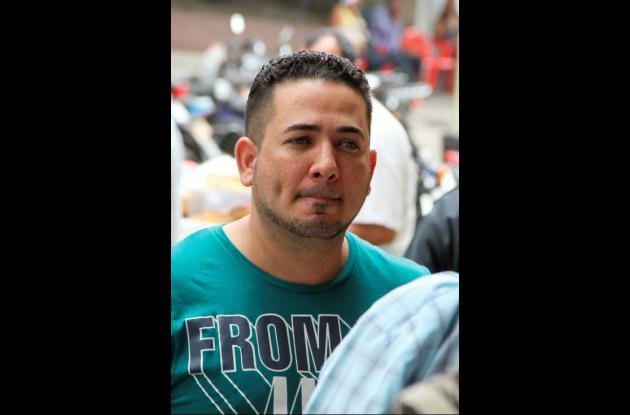 Farid Llinás, esposo de española asesinada en Barrannquilla.