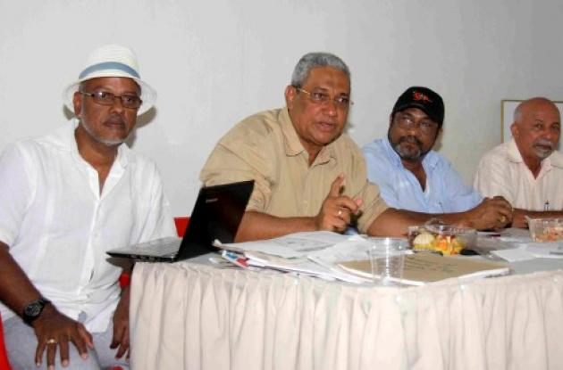 Delegados de Fecode Nacional analizaron ayer la difícil situa-ción del sector ed