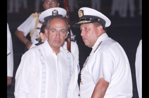 Felipe Calderón y César Narváez Arciniegas