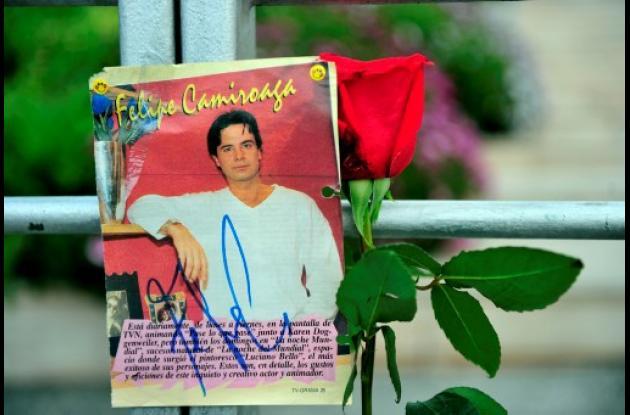 Muerte de Felipe Camiroaga