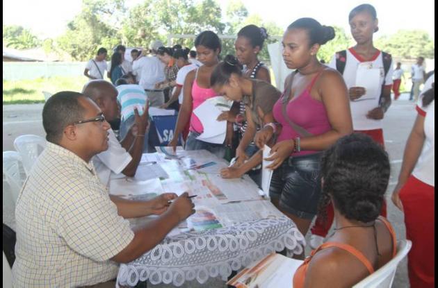 Feria Universitaria en el municipio de Arjona, organizada por la Alcaldía y vari