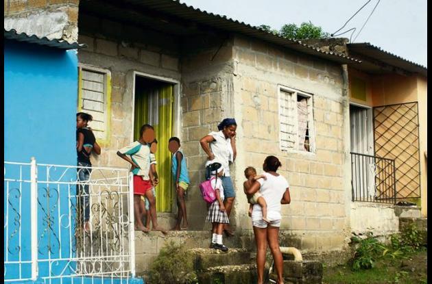 Barrio Campo Alegre, donde vivía albañil asesinado.