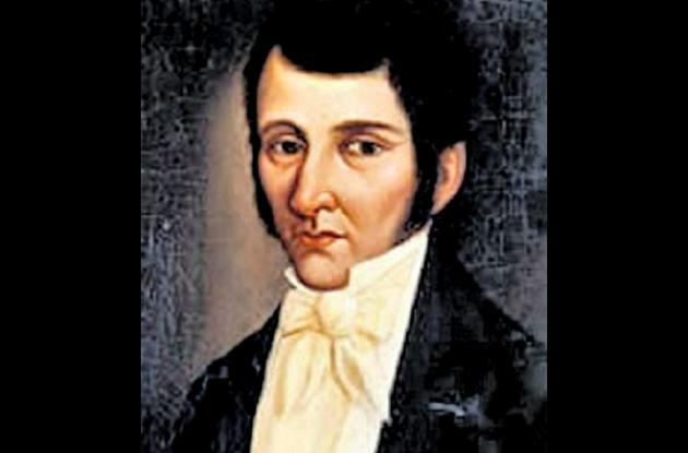 José Fernández de Madrid, óleo del Museo Nacional de Bogotá.