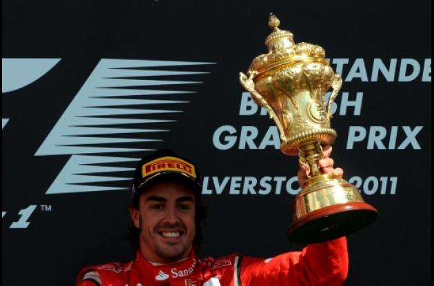 El español Fernando Alonso ganó en el Gran Premio de Gran Bretaña