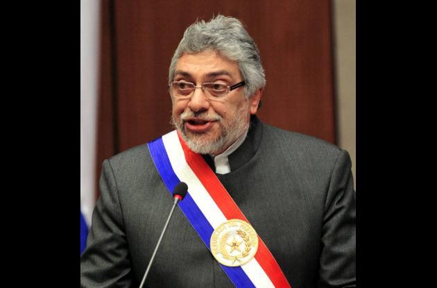 Fernando Lugo, presidente de Paraguay.