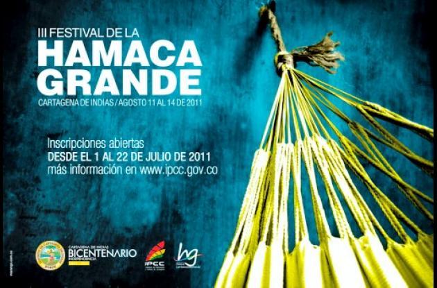 Hoy se cierran inscripciones para Festival de la Hamaca Grande.