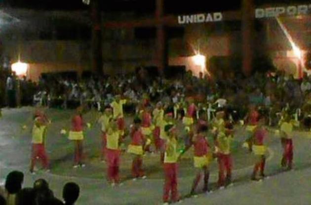 Festival del Ritmo En Pueblo Nuevo.