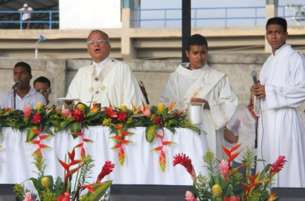 Fiesta Arquidiocesana en Cartagena