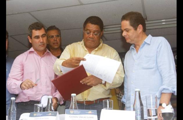 Firma de Convenio entre Alcaldía y Minvivienda