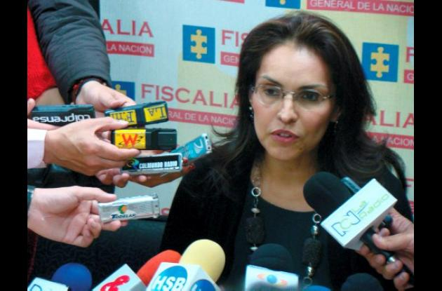 Viviane Morales, fiscal general de la Nación.