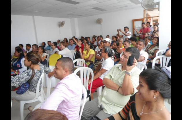 Foro Regional de la Equidad de Género, celebrado ayer en San Jacinto.