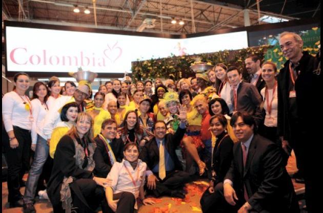 Colombia gana premio al mejor stan en Fitur España.