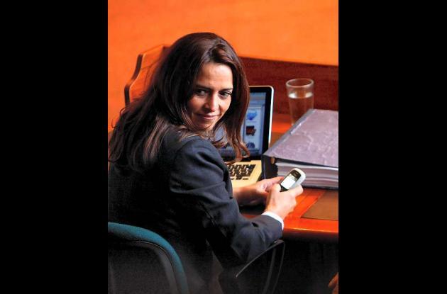 Nancy Patricia Gutiérrez,  expresidente del Congreso