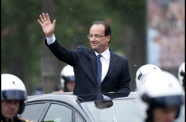Francois Hollande, presidente electo de Francia.