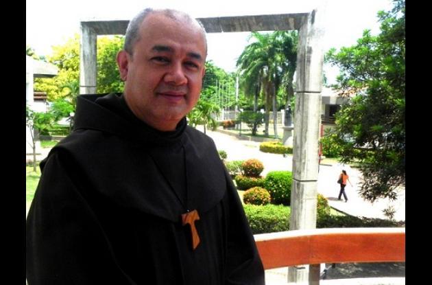 Fray Humberto Ávila Gómez, de la Universidad de San Buenaventura