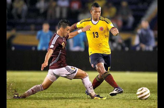 Fredy Guarín será baja ante Argentina.