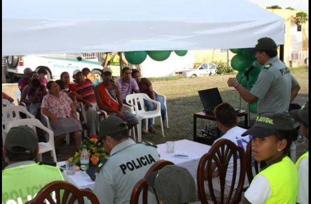 La comunidad participó activamente en el evento.