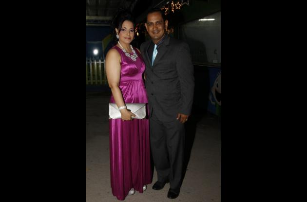 Matrimonio de Ernesto Frieri y Carolina Peláez.