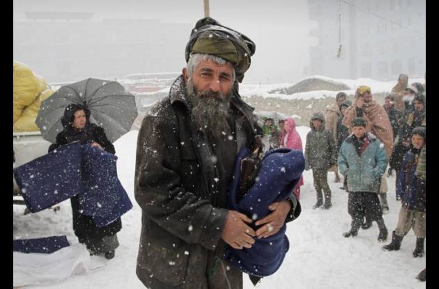 Afganistán, víctima de oleada de frío extremo.
