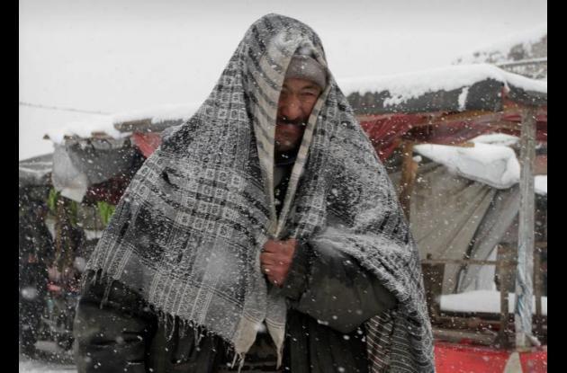 El frío sigue afectando a Afganístan.