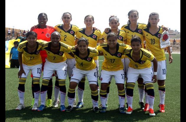 Selección Colombia Sub-20 de Fútbol Femenino.