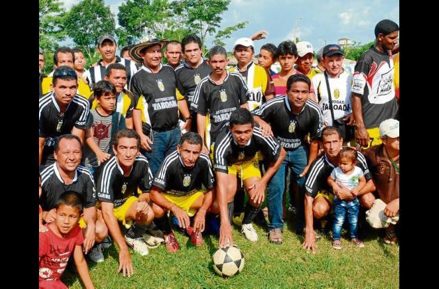 Fútbol recreativo en Sahagún