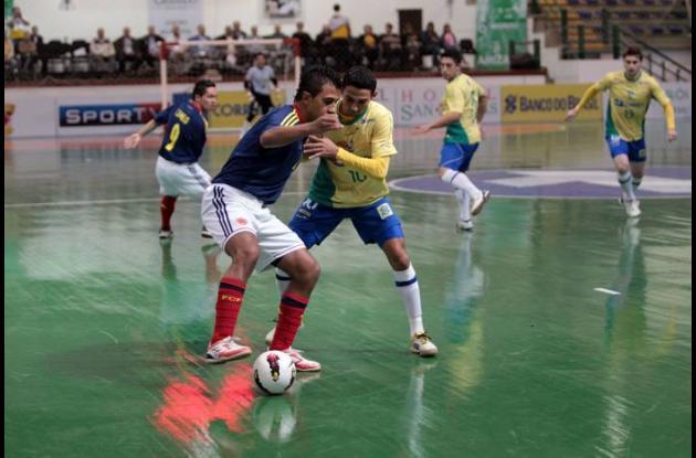 seleccion colombia futbol sala ante brasil