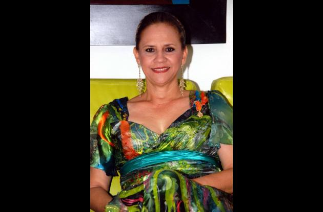 Gaby Arenas, invitada especial a Semana de la Moda en Bogotá.