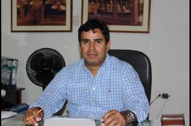 Gabriel Marriaga Piñeres, secretario de Obras Públicas.