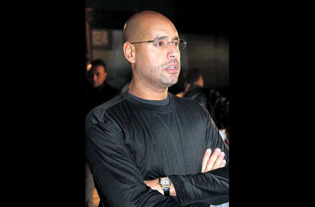 Saif al Islam fue detenido luego de poca resistencia
