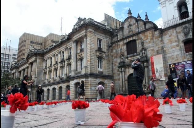 La artista plástica Nohema Pineda  Jorge Eliécer Gaitán