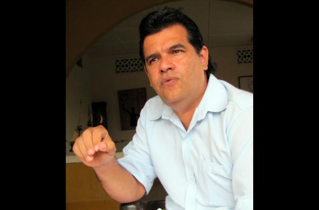 Galo Torres, alcalde suspendido de El Carmen de Bolívar.
