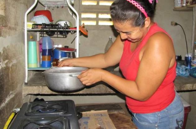 A mediados de 2012, unas 1.000 familias de El Guamo dejaran de cocinar con leña