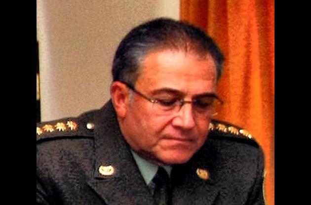 General Óscar Naranjo, director nacional de la Policía.