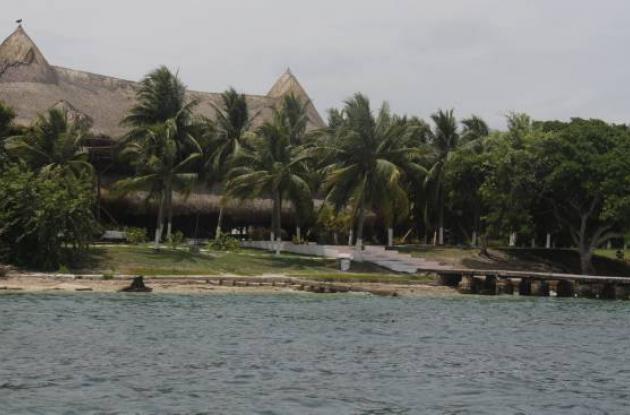Hotel gente de mar en isla grande