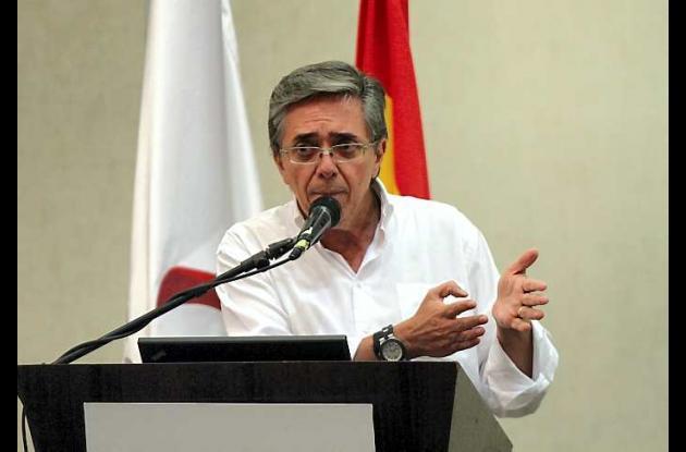 Germán Cardona, ministro de Transporte