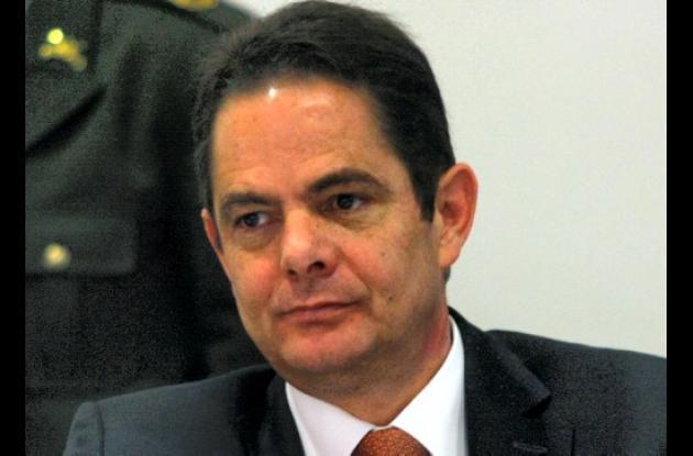 Germán Vargas Lleras, ministro del Interior y de Justicia.