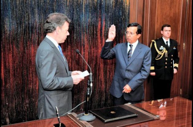 Germán Santamaría, embajador de Colombia en Portugal