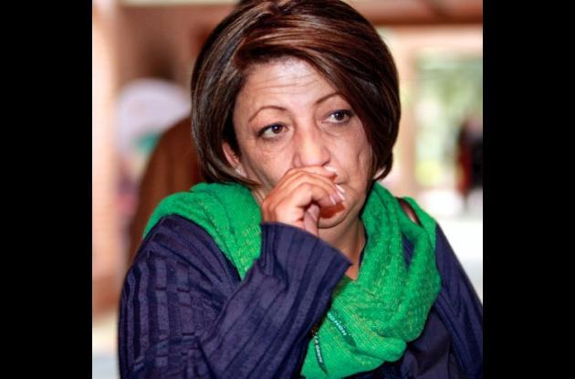 Gilma Jiménez, senadora autora del referendo de cadena perpetua para violadores.
