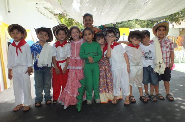 Festival en el Gimnasio Altamar de Cartagena