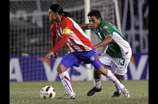 Giovanni Hernández, jugador de Junior de Barranquilla.