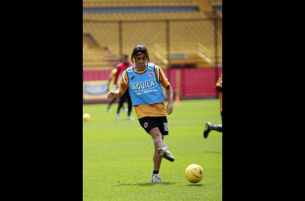 Giovanni Hernández, jugador del Junior de Barranquilla.