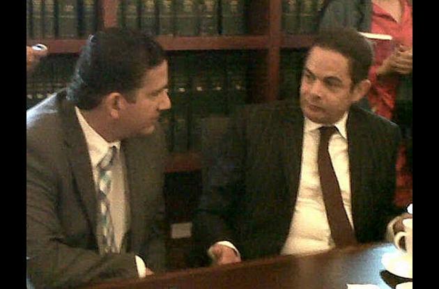El gobernador de Bolívar, Juan Carlos Gossaín, gestionó los recursos ante el min