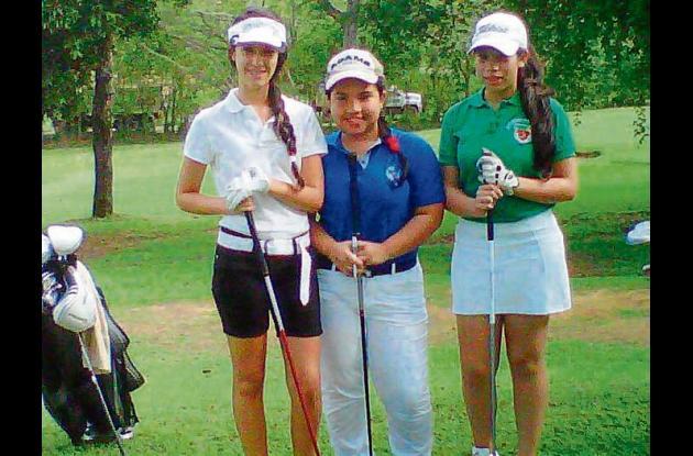 intercolegial y de clubes de golf en Montería.